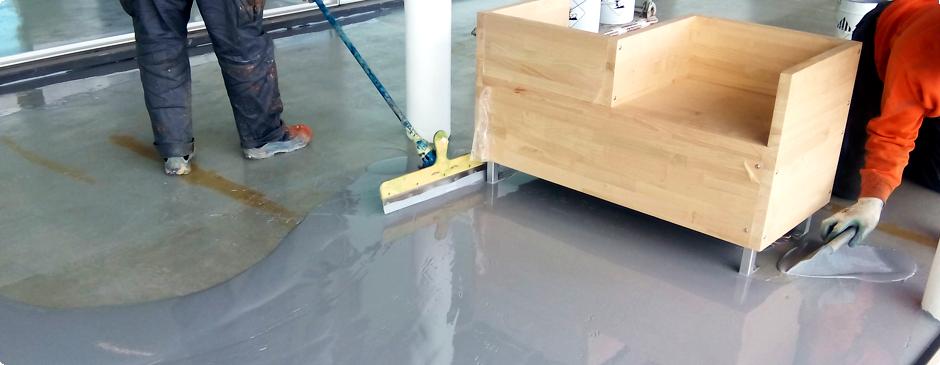 Sola2 pavimentos industriales y decorativos for Pavimentos industriales